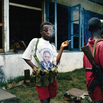 Child Soldiers edited by Leora Kahn, published by powerHouse Books