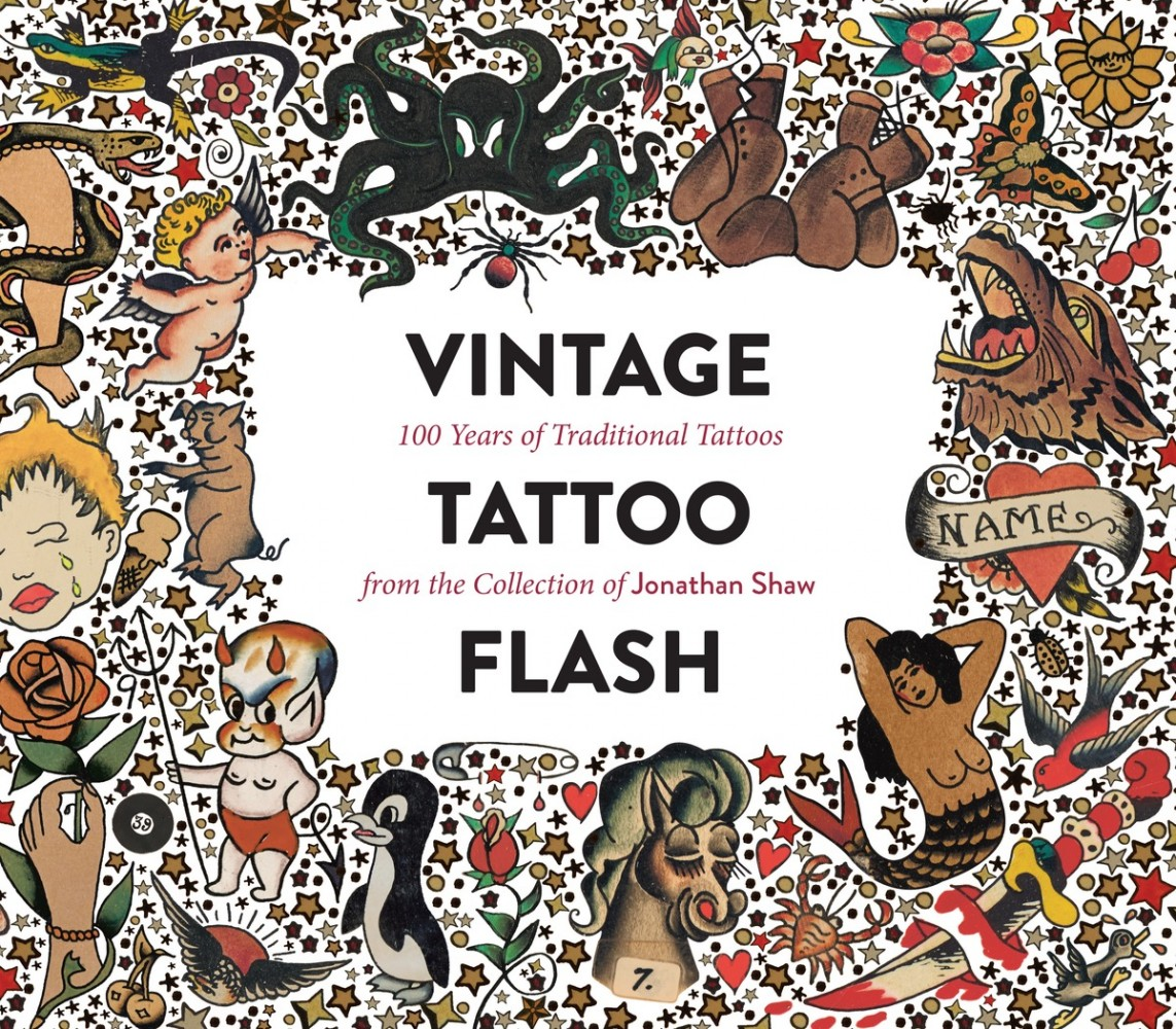 vintage tattoo flash 100 years of traditional tattoos from the collection of jonathan shaw. Black Bedroom Furniture Sets. Home Design Ideas