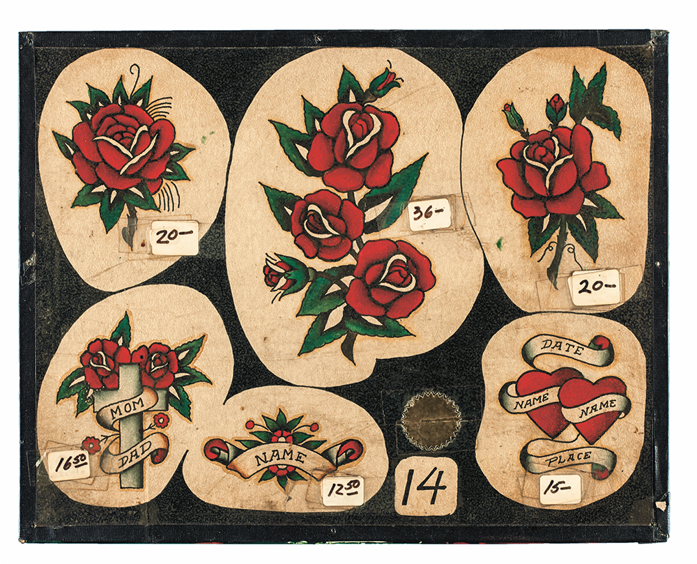Vintage Tattoo Flash: 100 Years of Traditional Tattoos from the ...