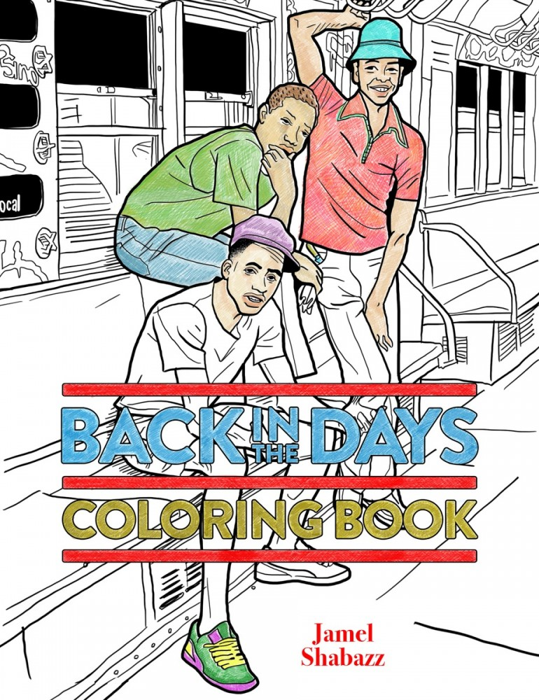Back in the Days Coloring Book | powerHouse Books