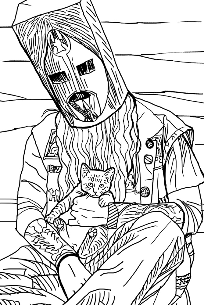 Metal Cats Coloring Book | powerHouse Books