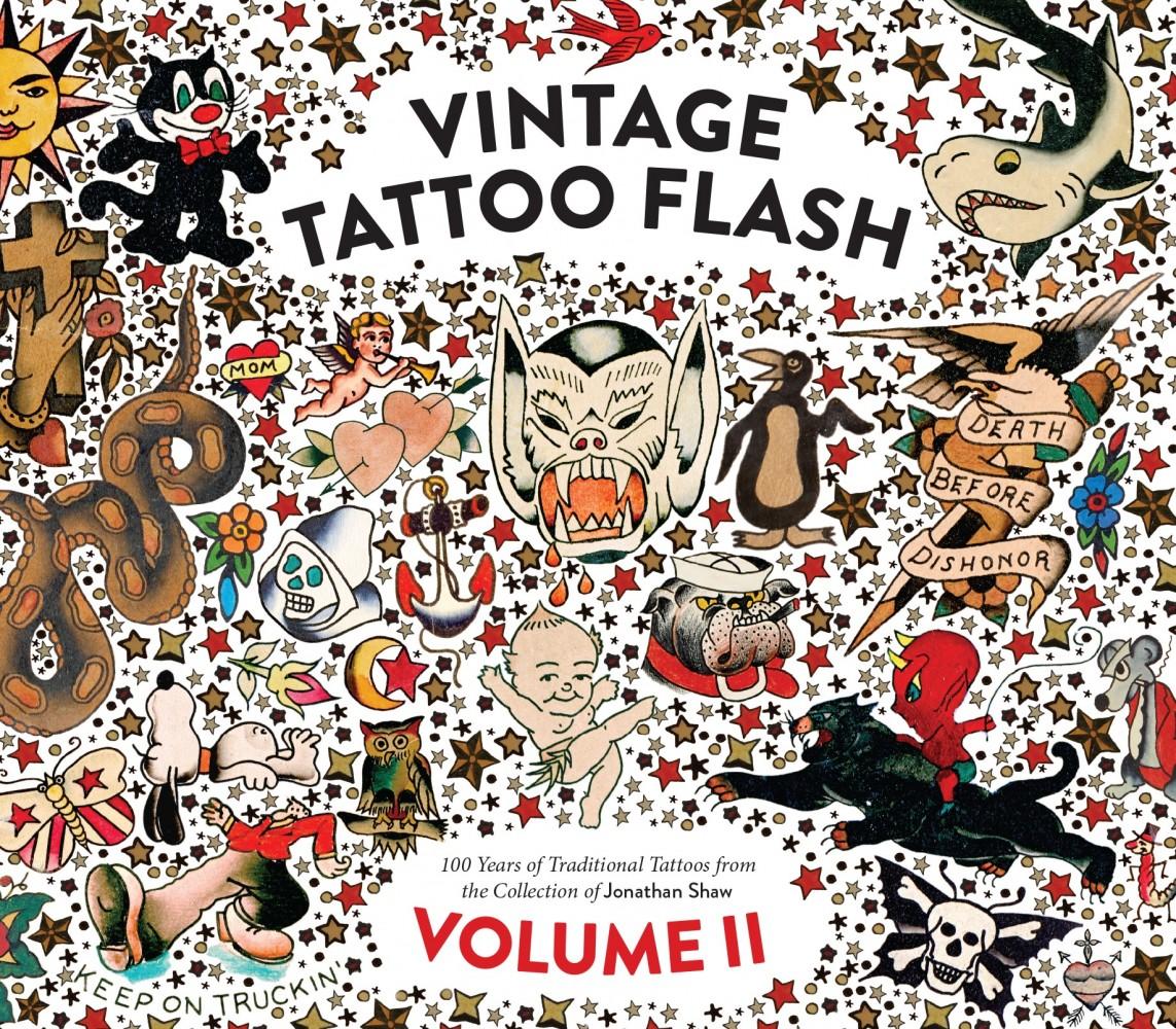 Vintage tattoo flash volume 2 powerhouse books for True culture tattoos