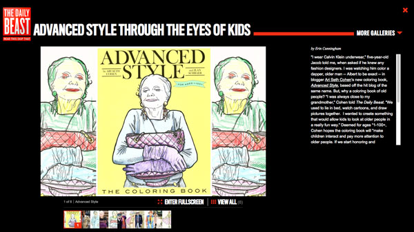 The Daily Beast Puts Advanced Style the Coloring Book to the Test ...