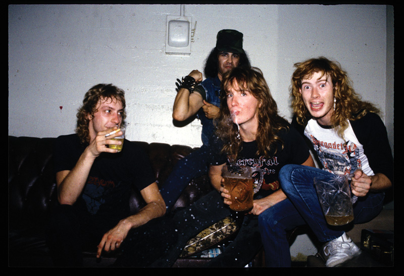 The Realms of Deth - Megadeth Pictures - Band Pictures
