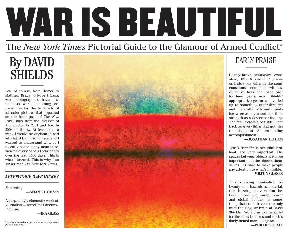 Francois Illas New Tradition: War Is Beautiful: The New York Times Pictorial Guide To